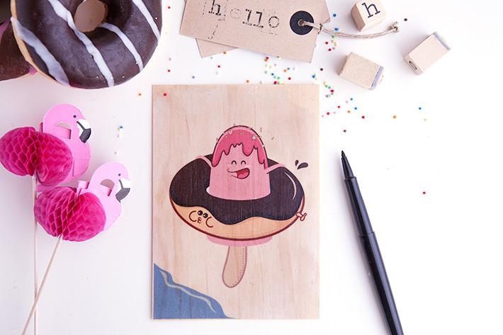 DIY-cartes-bois-glace-donut-wood-cards-V