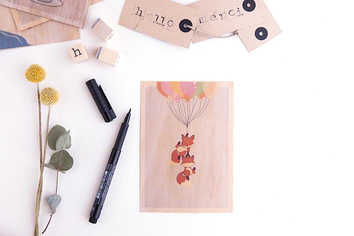 DIY-cartes-bois-renards-wood-cards