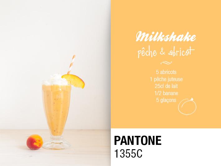 Pantone Milkshakes