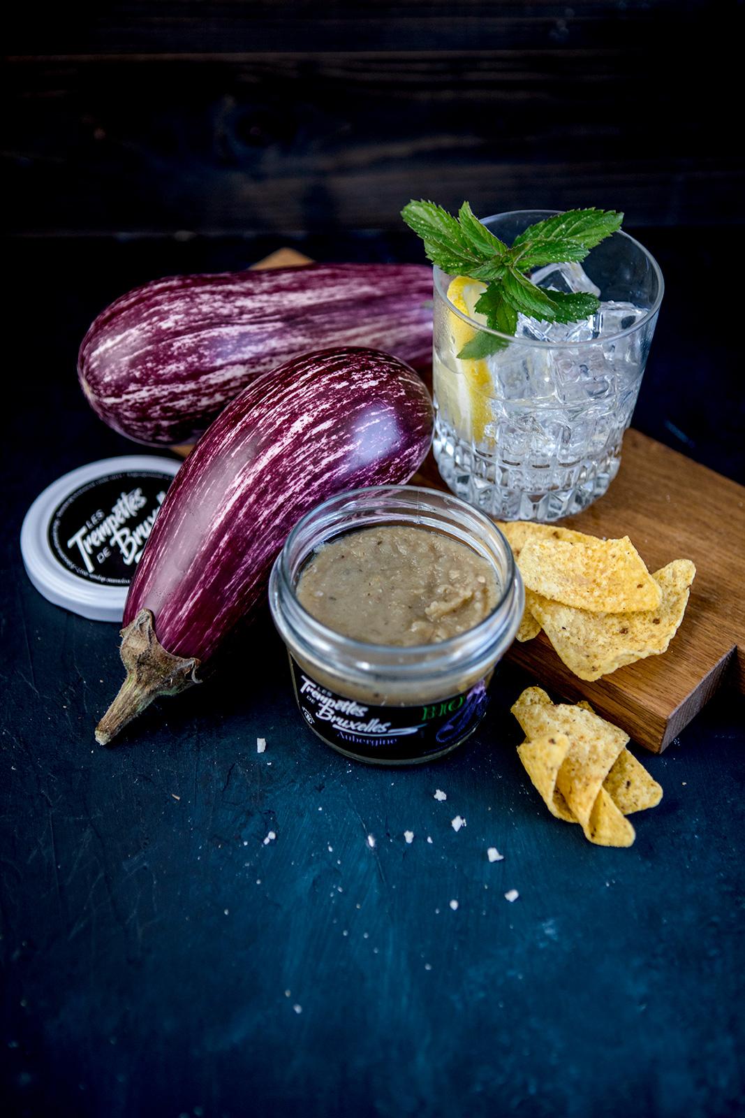 Les Trempettes de Bruxelles – eggplant recipe